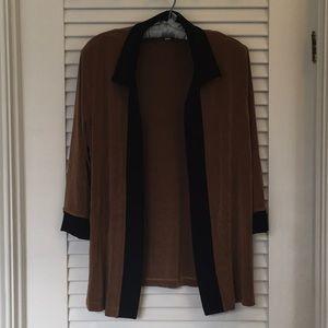 Packable Tan & Black Jacket